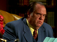Maury Chaykin as Nero Wolfe in CHAMPAGNE FOR ONE