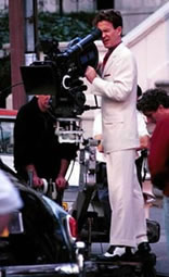 Timothy Hutton on the set in Manhattan