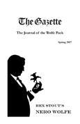 The Gazette The Journal of The Wolfe Pack